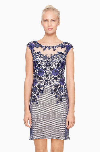 Montclair Dress - Navy