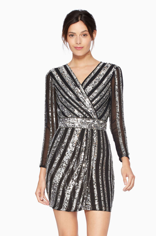 Kelsey Dress - Silver