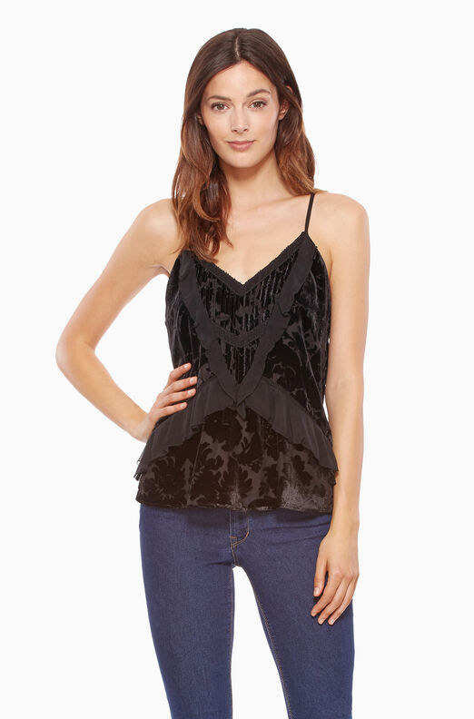 Paris Combo Top - Black