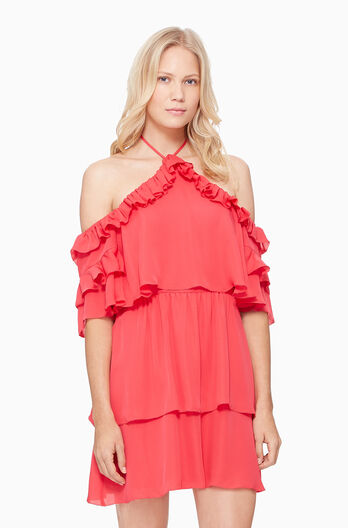 Lorenzo Dress - Watermelon