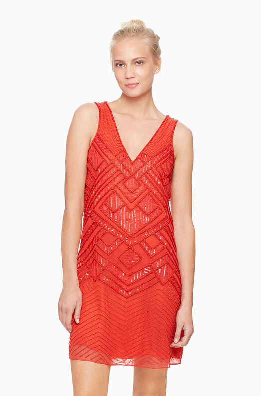 Lucy Dress - Coral