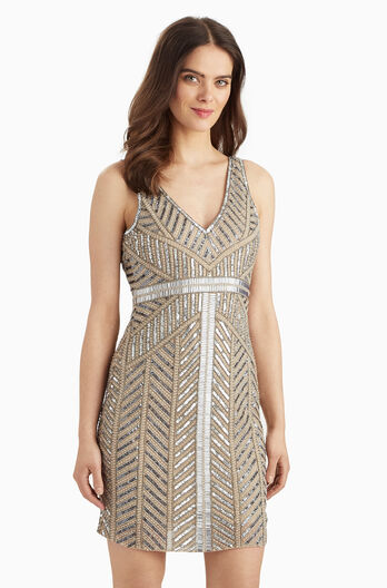 Brookdale Dress - Nude