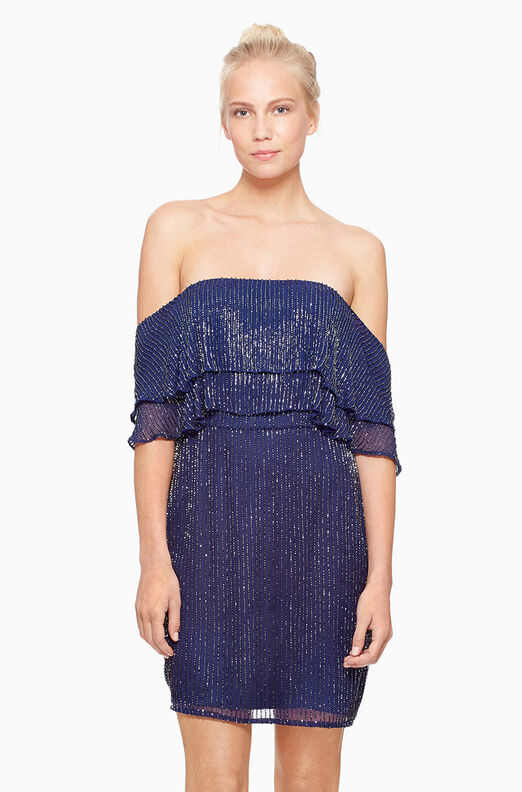 Keira Dress - Navy
