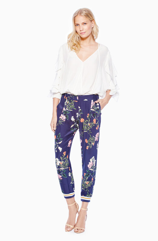 Manolo Pant - Navy Daphne