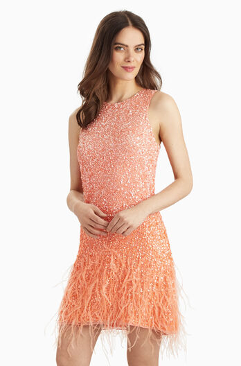 Allegra Dress - Peach