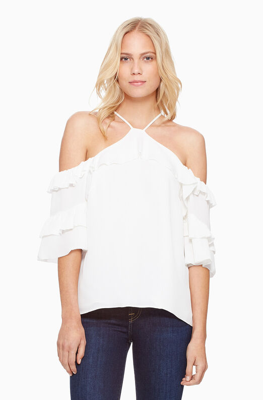 Natalia Blouse- White
