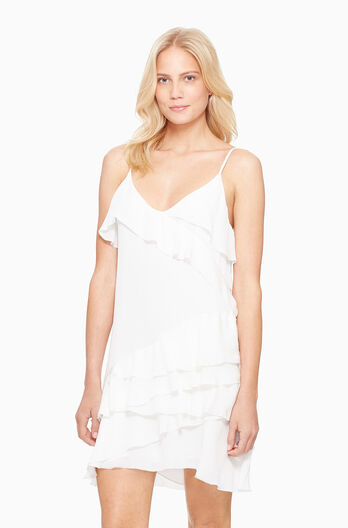 Athens Dress - White