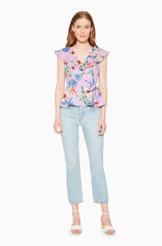 Manny Floral Top
