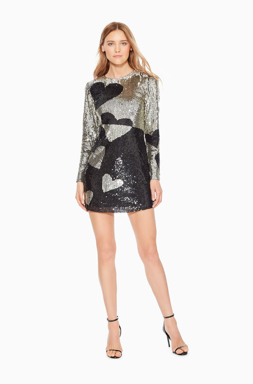 Axel Sequined Heart Dress