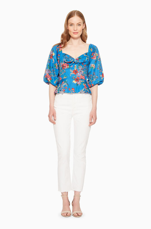Iggy Floral Blouse