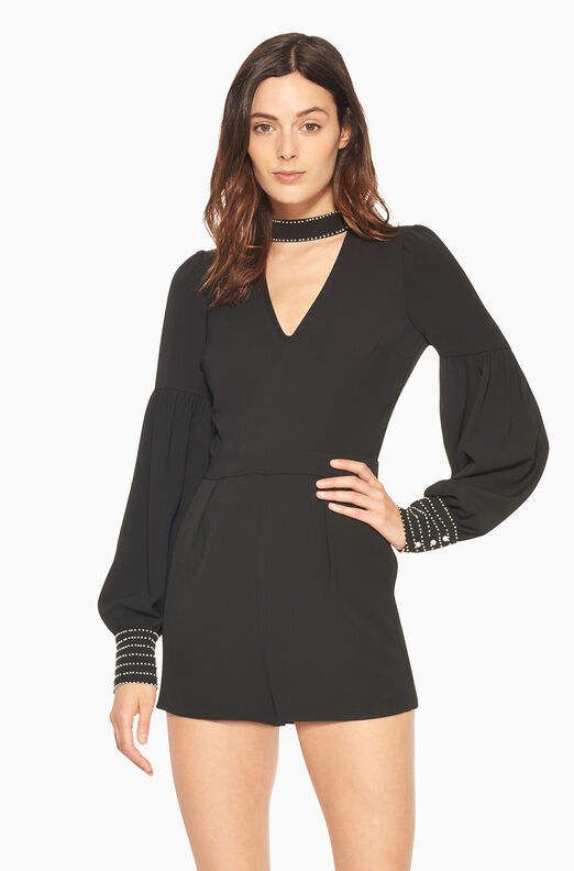 Louisa Romper - Black