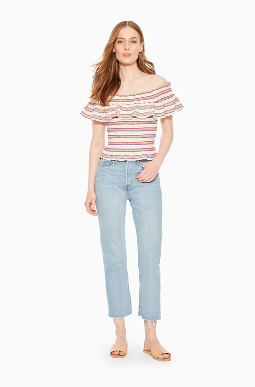Lizette Striped Top