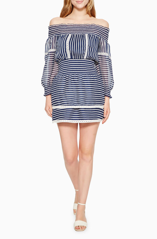 Carah Striped Dress