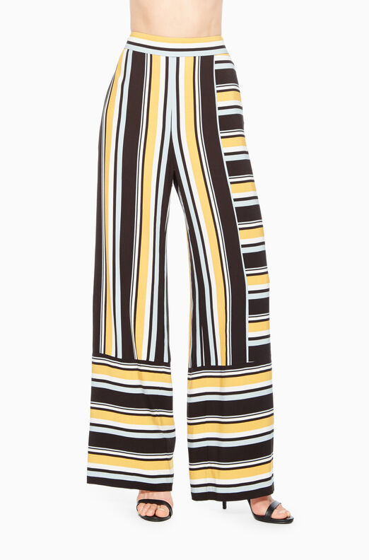 Wrenn Stripe Wide Leg Pant