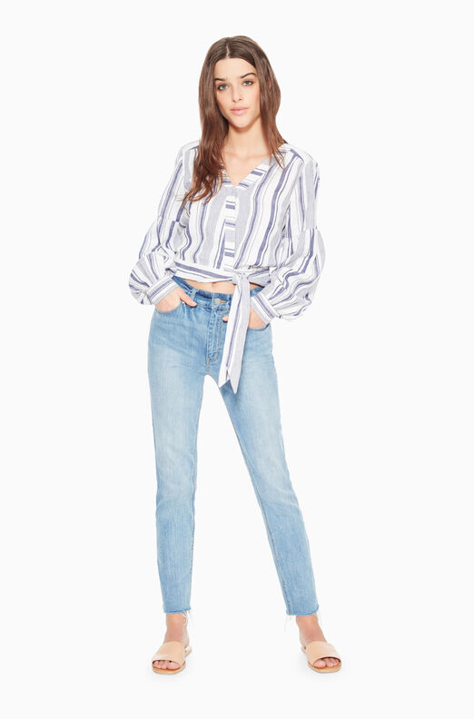 Saskia Striped Blouse
