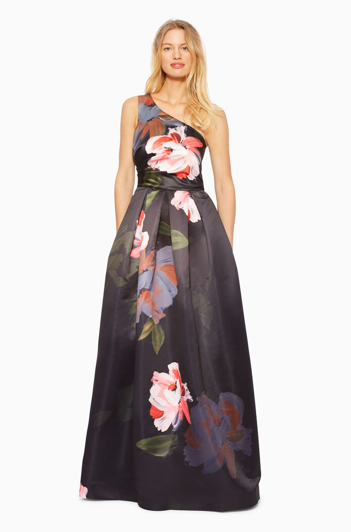 Melissa Dress - Brushstroke Floral