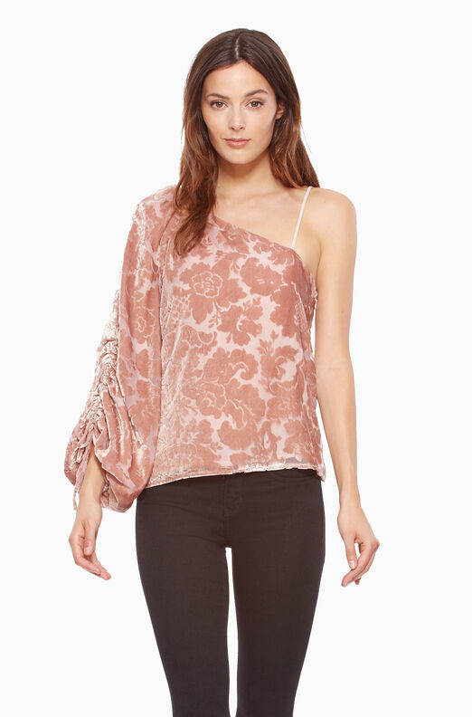 Cleo Blouse - Apricot