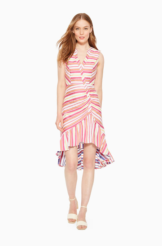 Candy Striped Dress