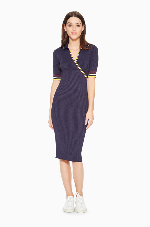 Monty Knit Polo Dress