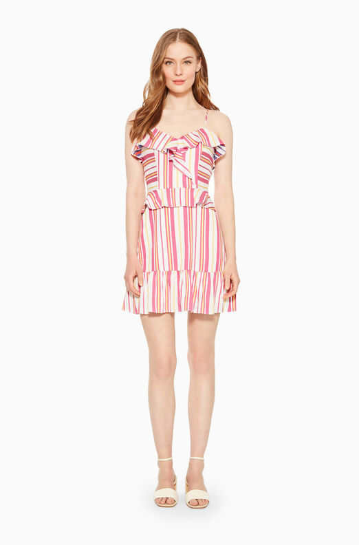 Isadora Striped Dress