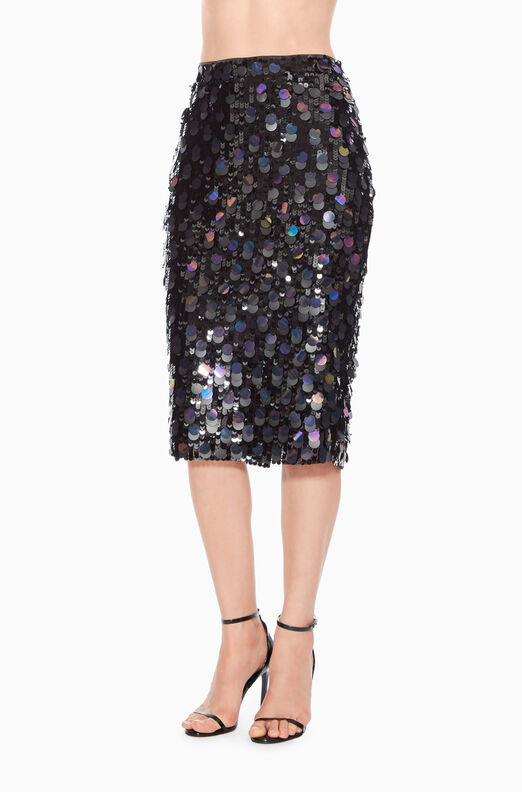Glenda Sequined Skirt
