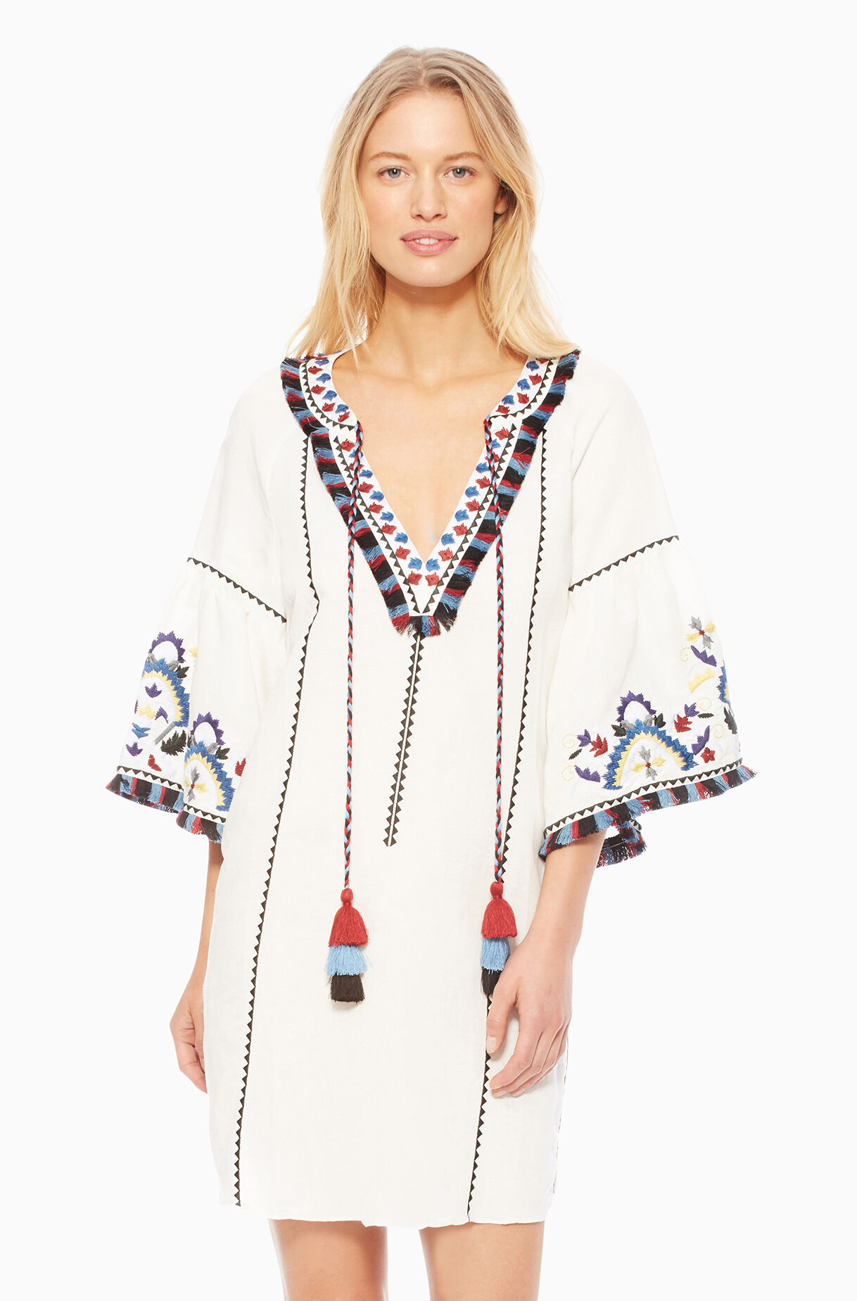 Tropez Cover Up - White