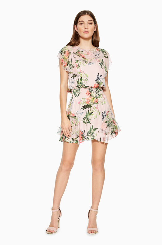 Acadia Combo Floral Dress