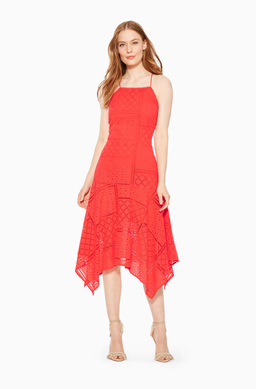 Capri Embroidered Dress