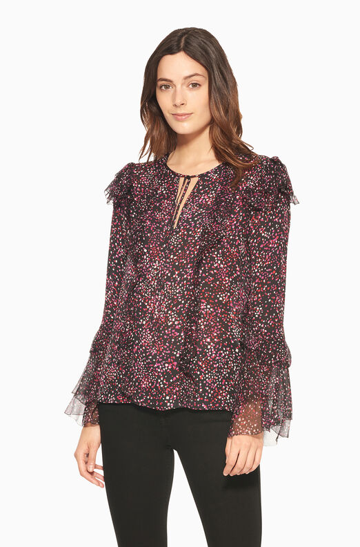 Keenya Combo Blouse - Scatters