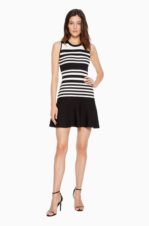 Penny Striped Knit Dress
