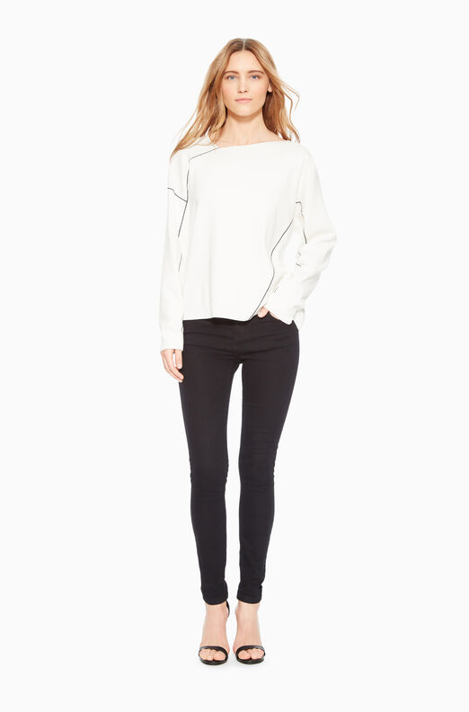 Laura Asymmetric Sweater