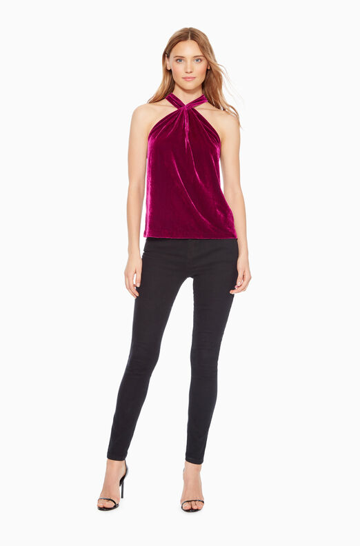 Dallas Velvet Top