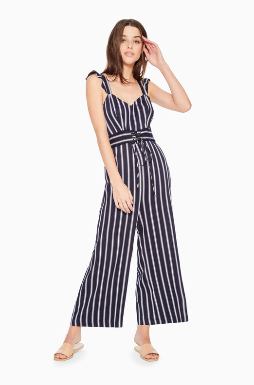 Myers Striped Jumpsuit