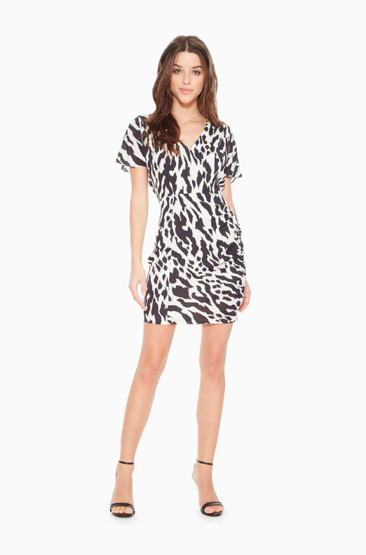 Santorini Tiger Dress