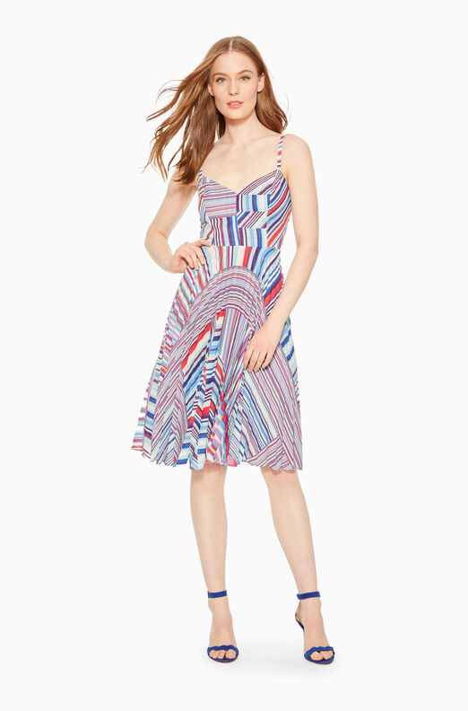 Magna Striped Dress