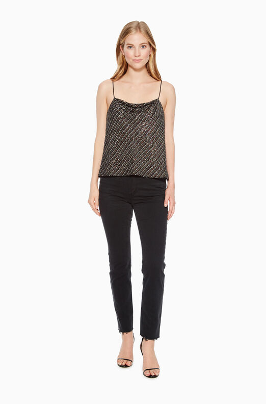 Summer Sequined Top