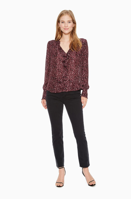 Tilly Leopard Print Blouse