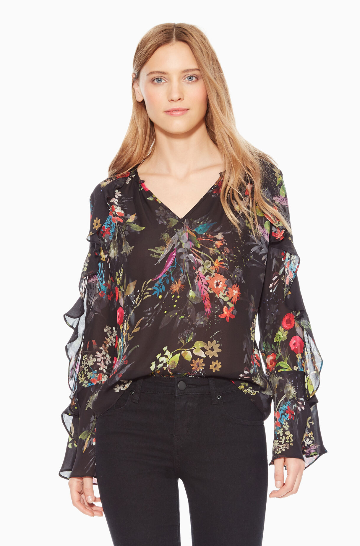 Trinity Floral Blouse