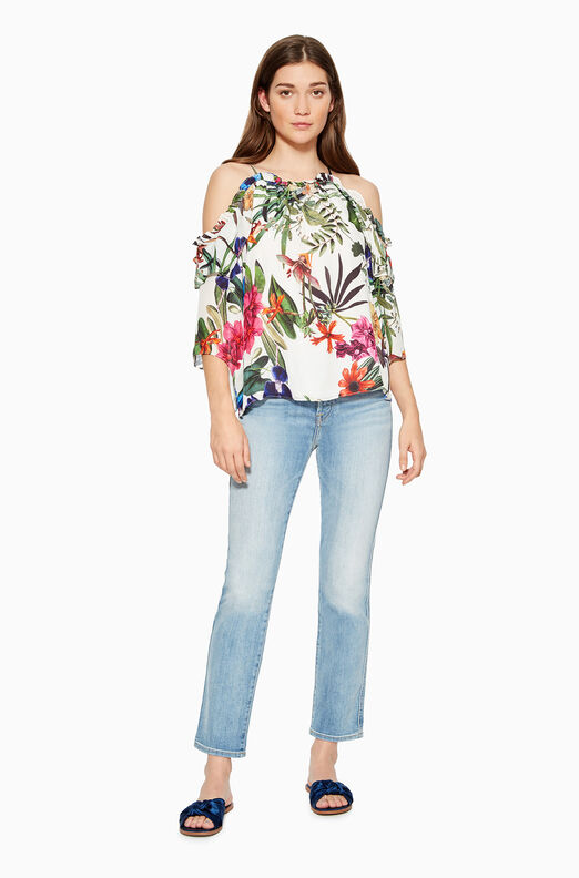 Mildred Floral Top