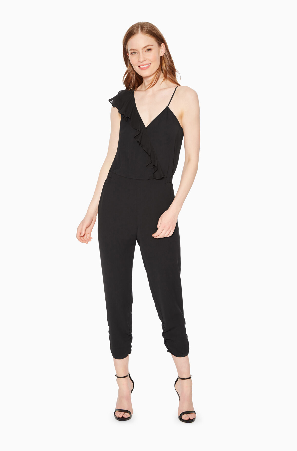 Addison Combo Jumpsuit - Black