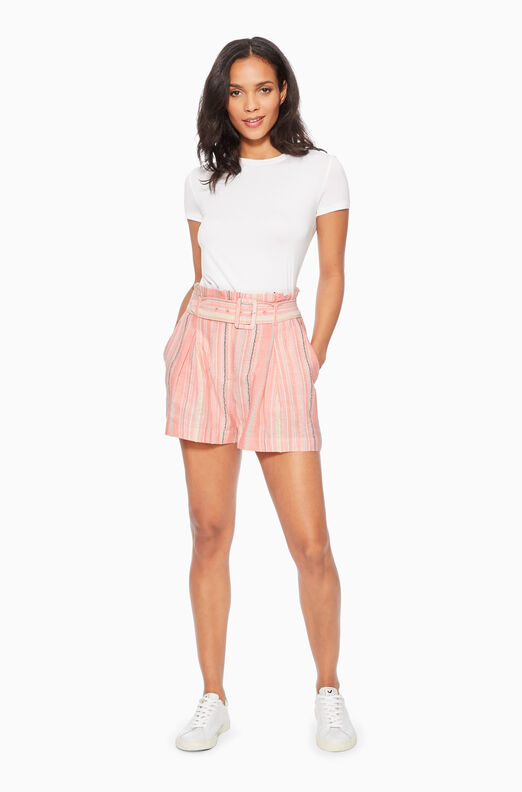 Carlo Striped Short
