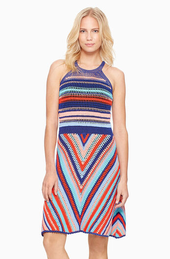 Viola Knit Dress - Multi