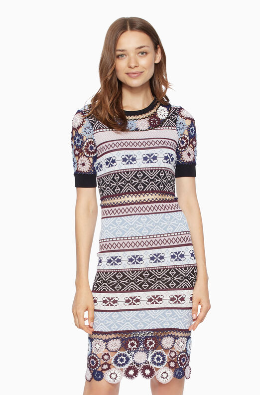 Carol Knit Dress - Multi