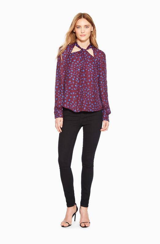 Battista Leopard Blouse
