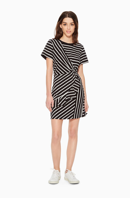 Calvin Striped Dress