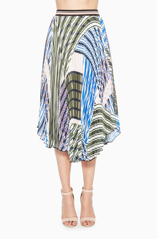 Sharri Striped Skirt