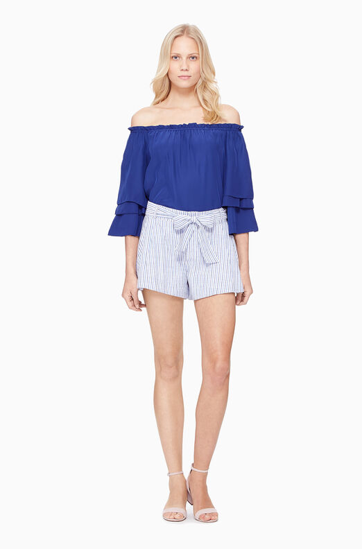 Bow Short - Stripe