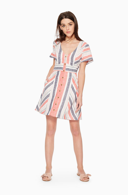 Kacey Striped Dress