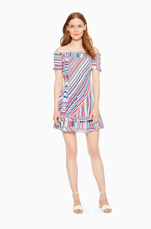 Zizola Striped Dress