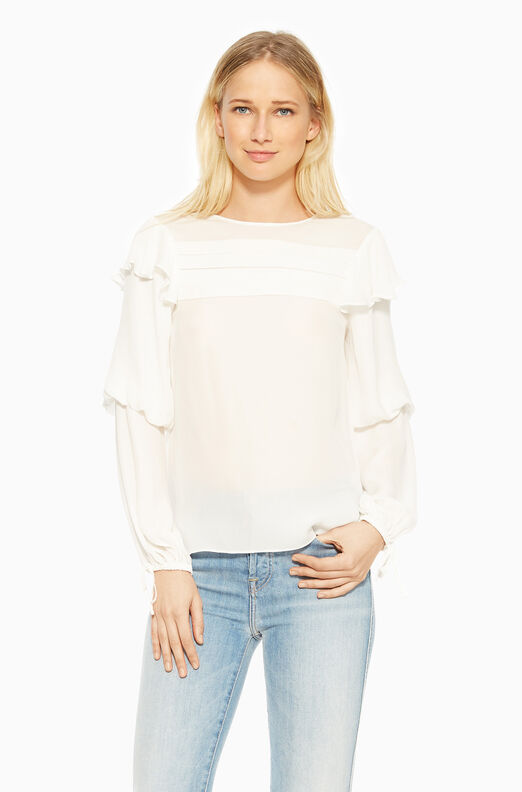 Finch Blouse - Ivory